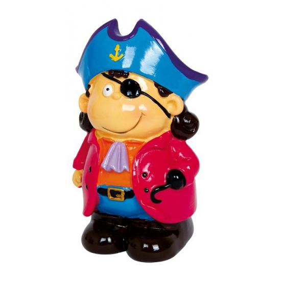 Kapitein Blue spaarpotje van porselein