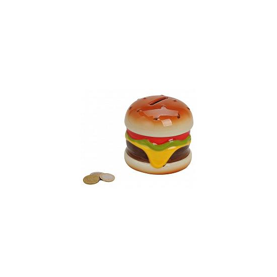 Spaarpot hamburger 10 cm