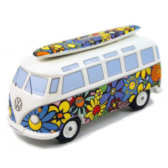 Hippie VW bus spaarpotten 21 cm
