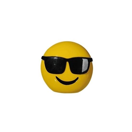 Smiley cool spaarpot 13 cm
