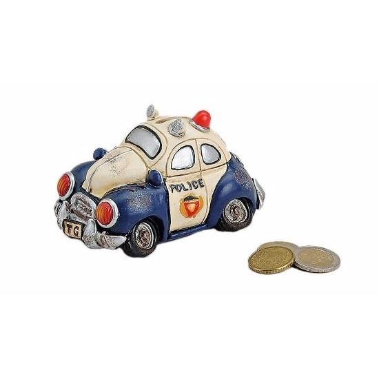 Spaarpot in de vorm van een politieauto