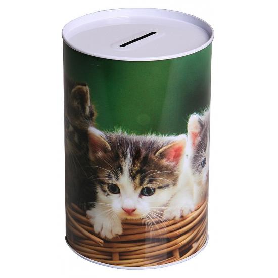Spaarpot kitten 15 cm type 3