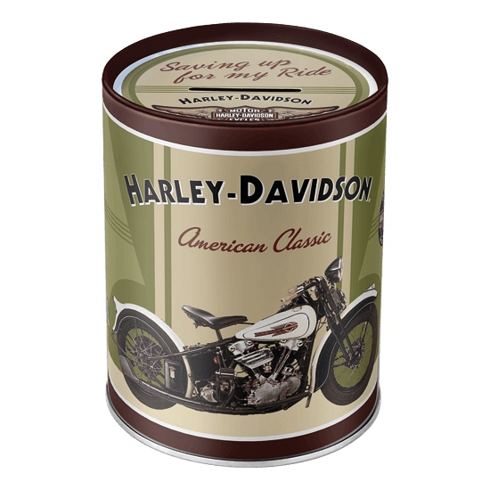 Spaarpotten Harley Davidson American Classic 13 cm