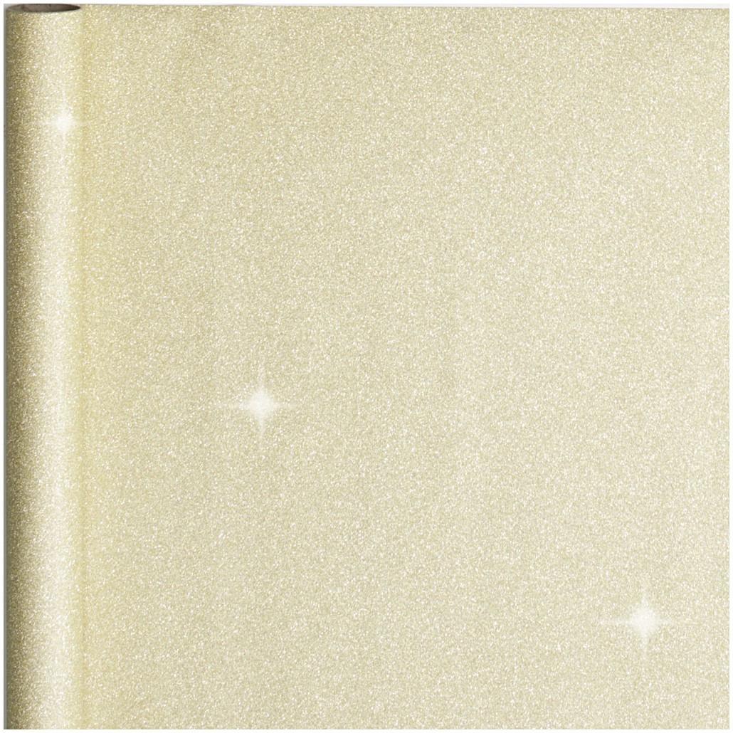 2x stuks kerst cadeaupapier gouden glitters 50 x 300 cm