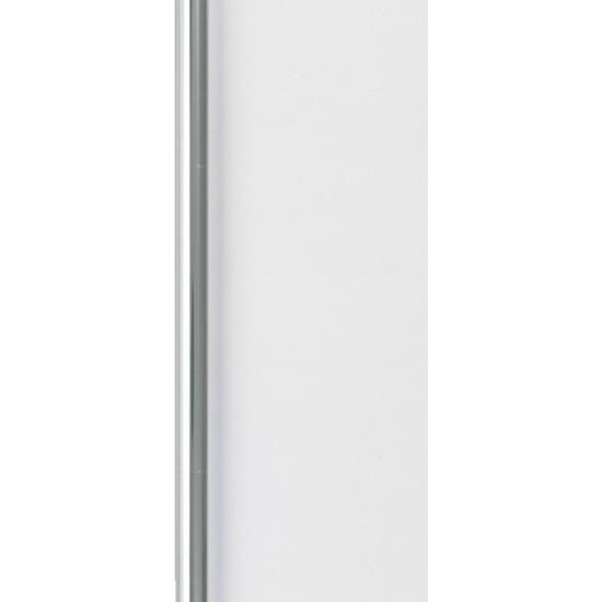 2x Verjaardag kadopapier transparant 400 x 70 cm foliepapier