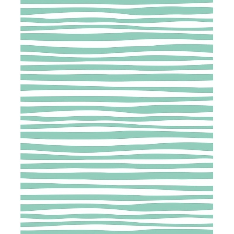 3x Verjaardagscadeau inpakpapier wit met blauwe strepen 70 x 200 cm
