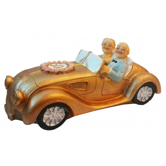 50 jaar getrouwd spaarpot auto