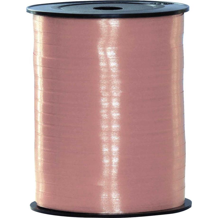 Baby roze sierlint feestartikelen voor cadeaus 500 meter x 5 milimeter