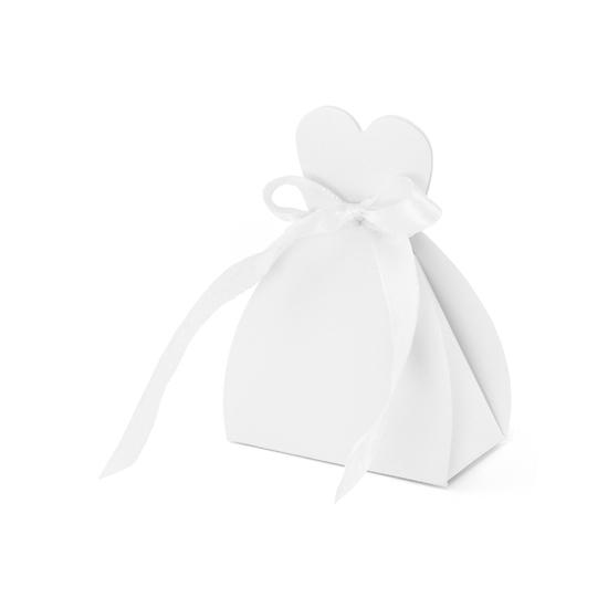 Bruiloft kado doosjes bruid 10x. kado doosje bruidsjurk van ongeveer 6,5 x 3 x 9 cm. de doosjes zijn gemaakt ...