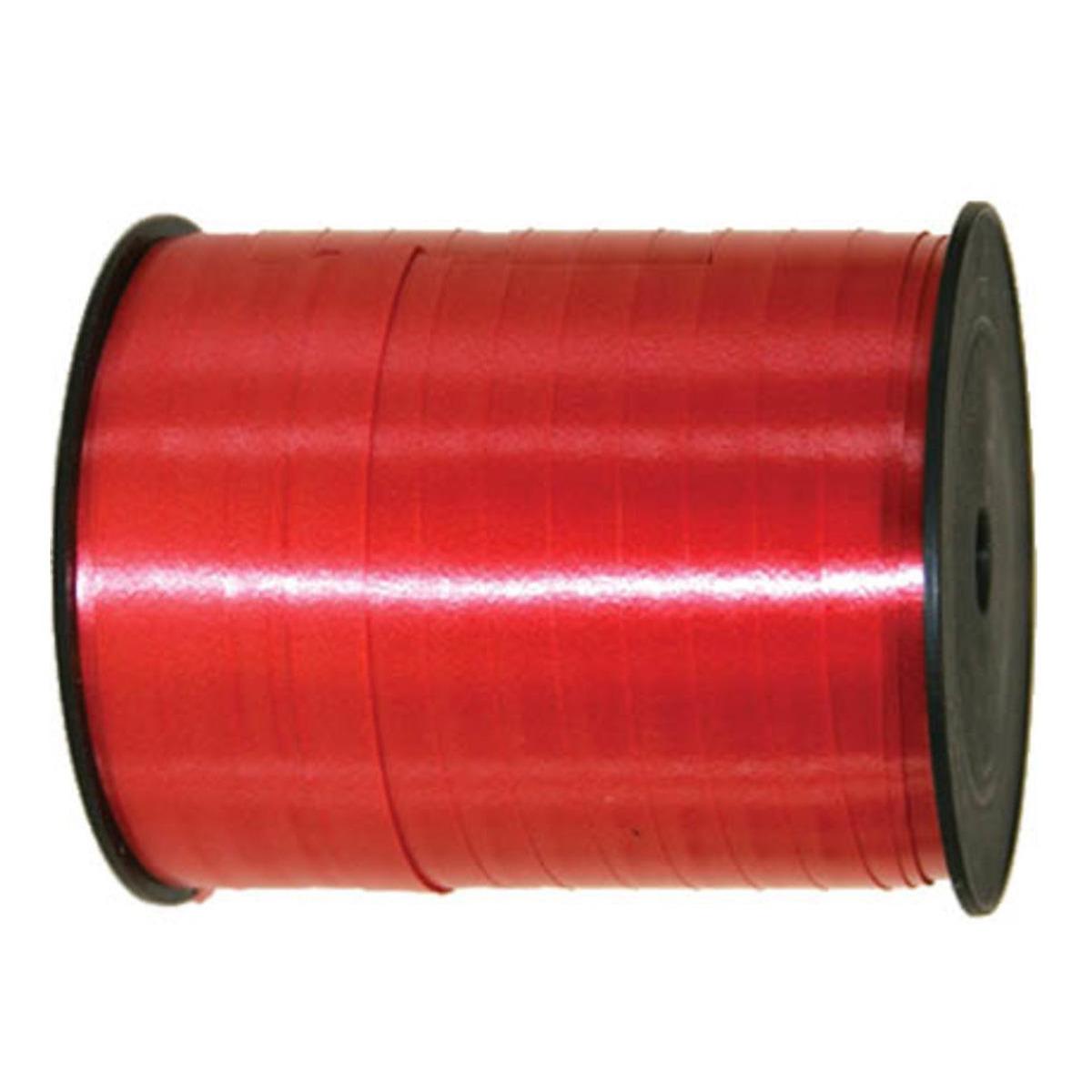 Cadeaulint/sierlint in de kleur rood 5 mm x 500 meter