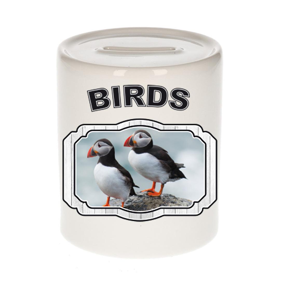 Dieren liefhebber papegaaiduiker vogel spaarpot - vogels cadeau