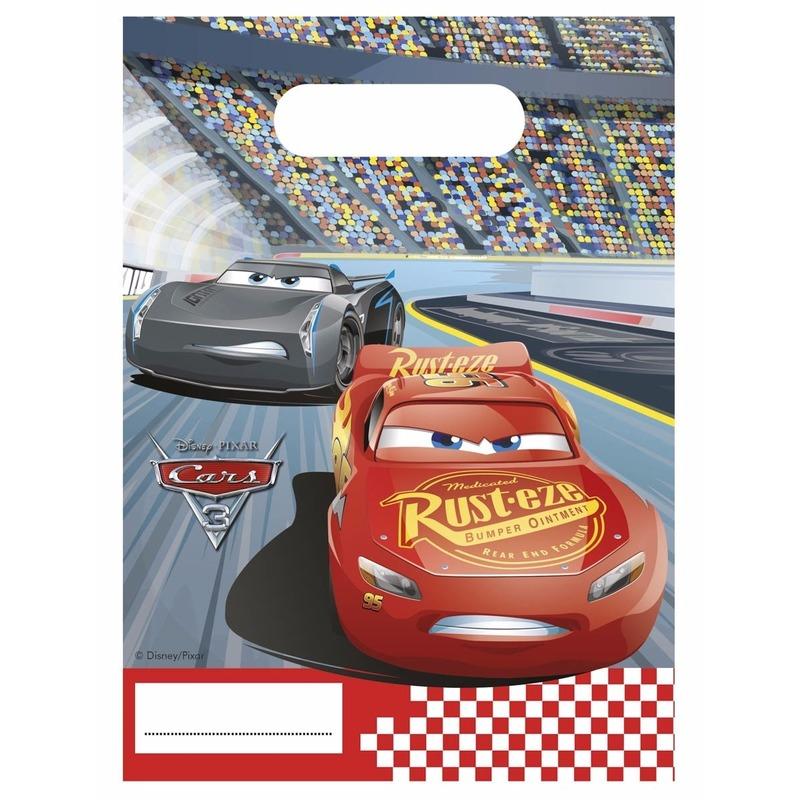 Disney Cars feestzakjes 6x stuks