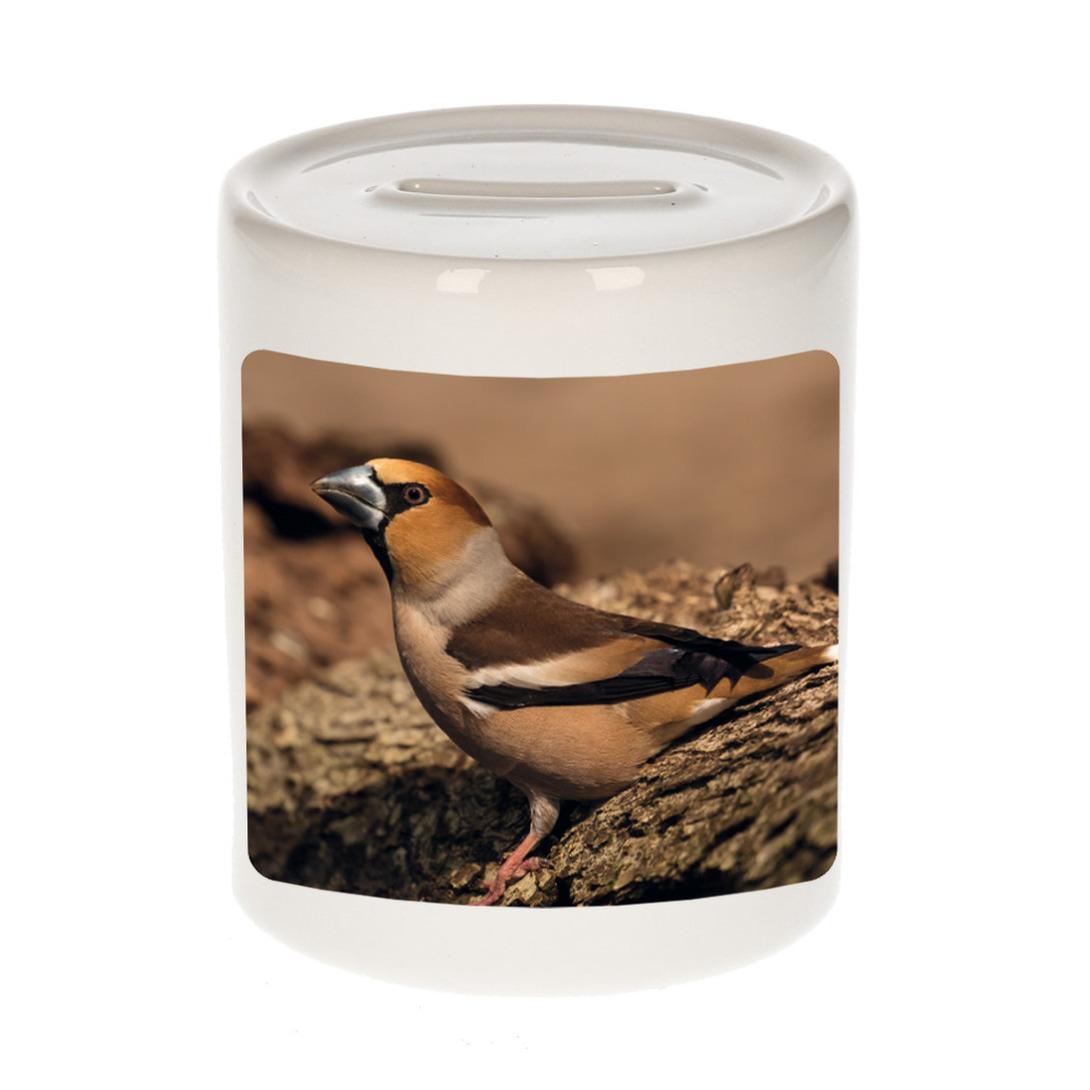 Foto appelvink vogel spaarpot 9 cm - Cadeau vogels liefhebber
