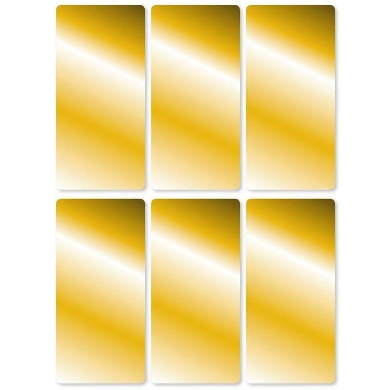 Gouden labels 18 stuks