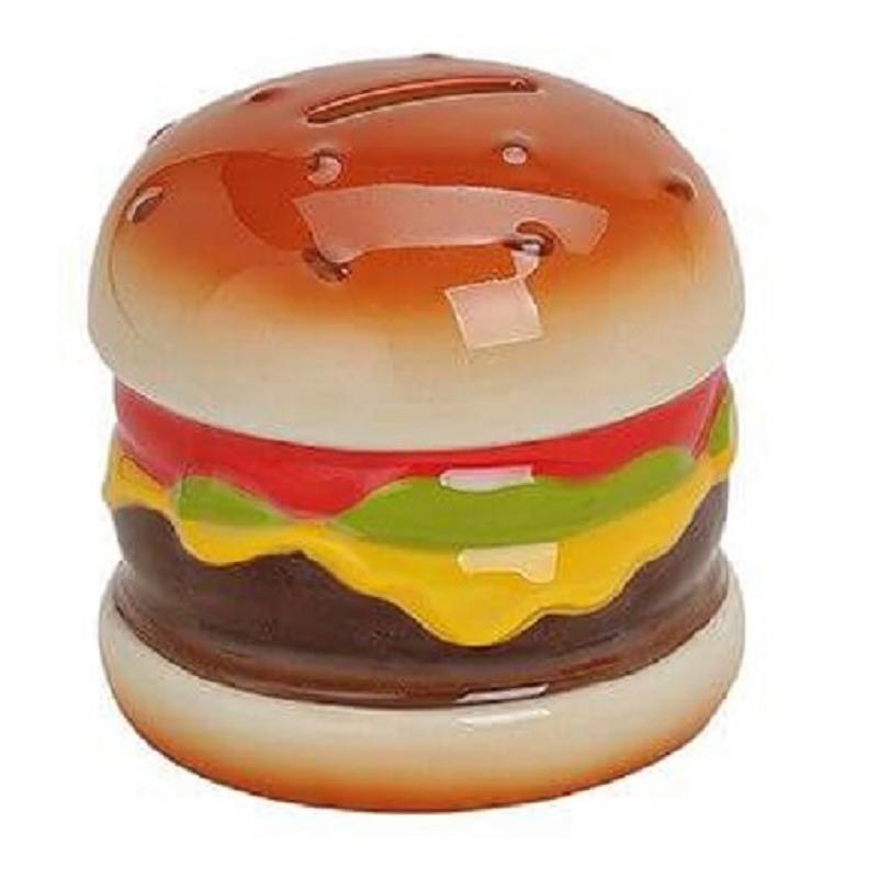 Hamburger spaarpot 10 cm