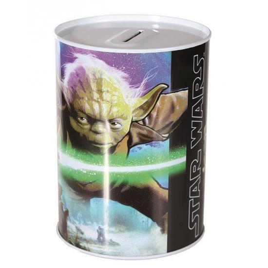 Metalen spaarpot Yoda