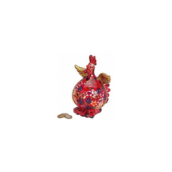 Rode haan spaarpot