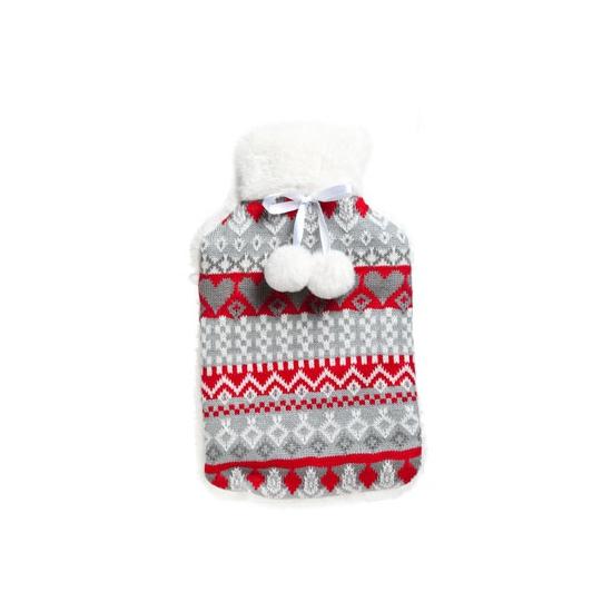 aa24dd01f04 Rode kruik met winter opdruk - Spaarpotten winkel