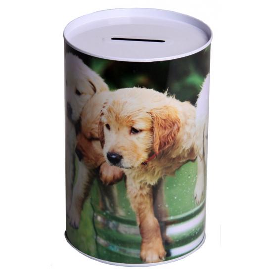 Spaarpot puppies 15 cm type 3
