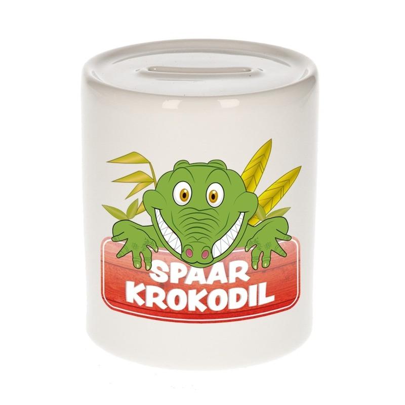 Spaarpot van de spaar krokodil Kroky 9 cm