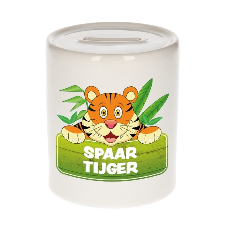Spaarpot van de spaar tijger Tony 9 cm