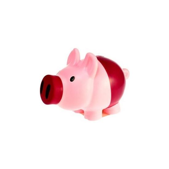 Spaarpot varken roze/paars