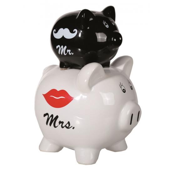 Spaarvarkens Mr en Mrs