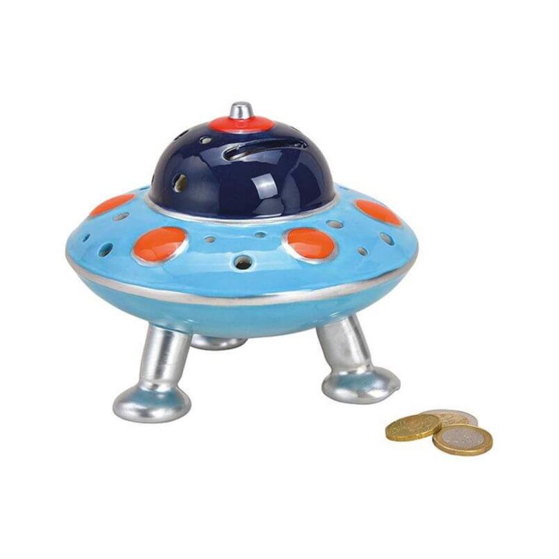 UFO spaarpot 14 cm