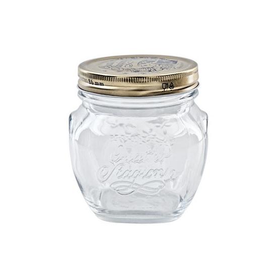 Weckpotten met schroefdeksel 200 ml